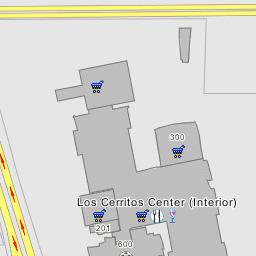 on cerritos mall map