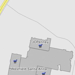 Westfield Santa Anita (Main Mall Area) - Arcadia, California