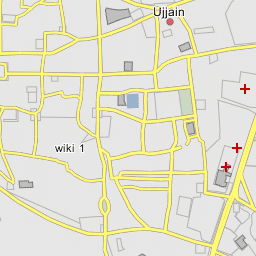 Ujjain India Map.Mohan Nagar Ujjain