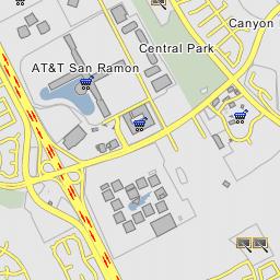 AT&T San Ramon - San Ramon, California San Ramon Ca Map on
