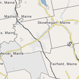 Madison Maine Town New England New York
