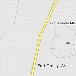 Allen Army Airfield Fort Greely Airport Military Airbase