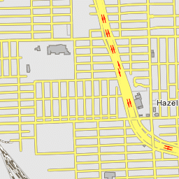 Ferndale Michigan Map.Cn Detroit Intermodal Terminal Ferndale Michigan