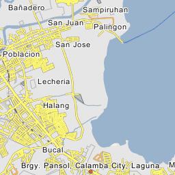 Bucal Calamba - Calamba city map